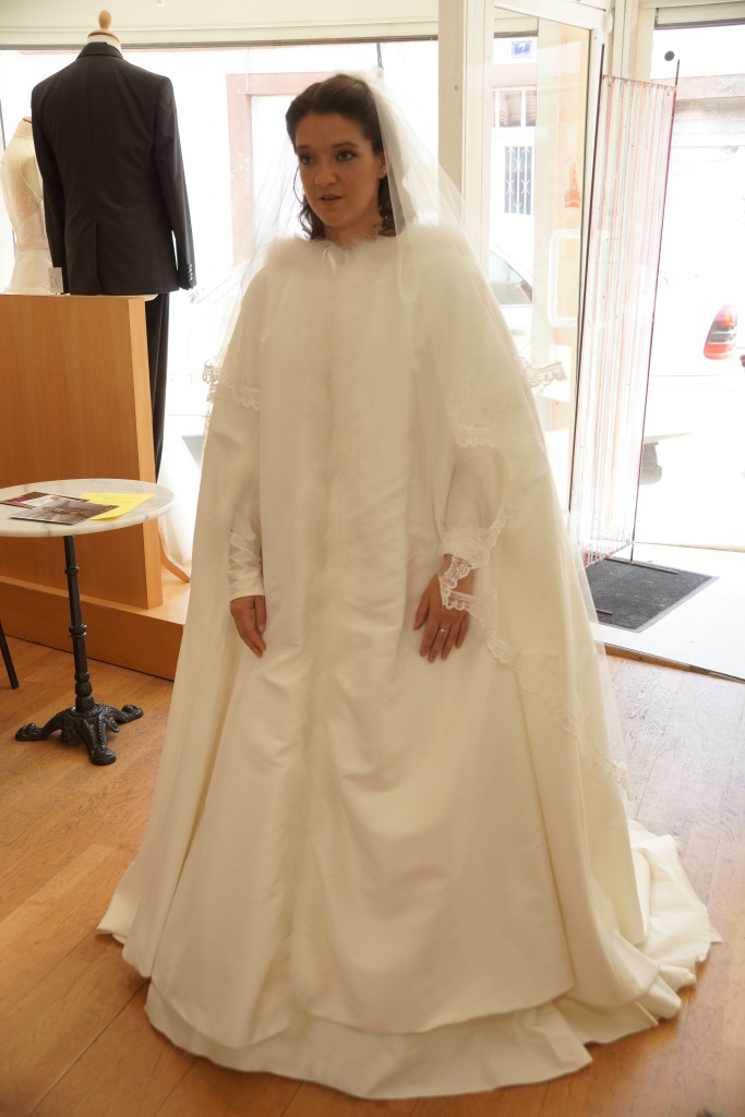 Robe tРіВ©moin mariage hiver