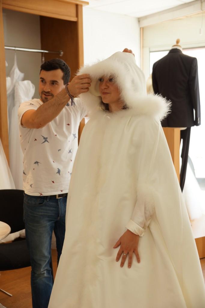 Mariage en hiver : que porter par-dessus ma robe pour ne pas avoir froid ?