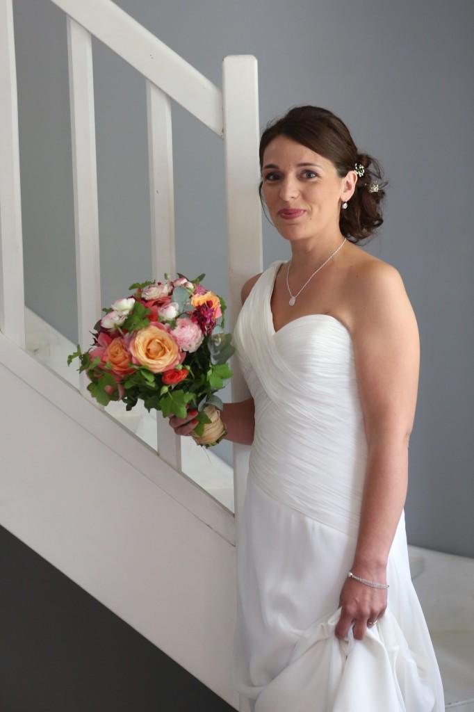 Ultimes préparatifs le jour J : l'arrivée de la mariée