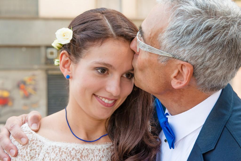 Le mariage civil de Charlène en bleu (6)