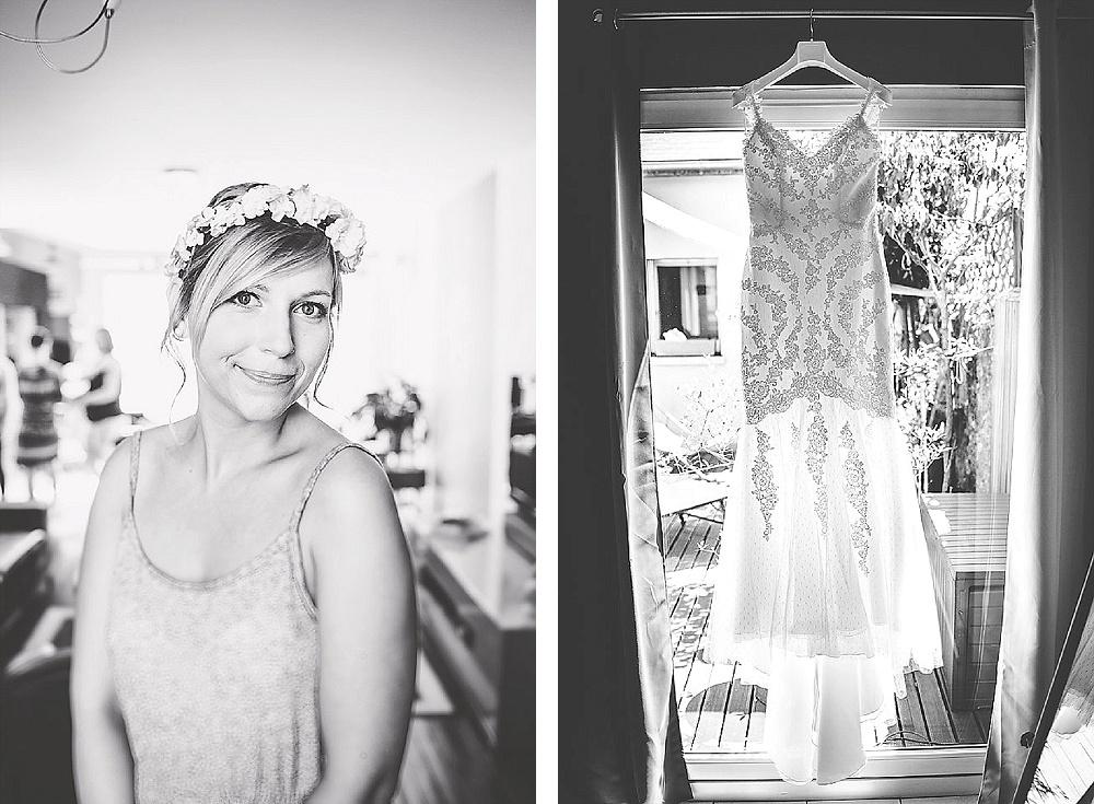 Le mariage de Jessica sur un thème chic et champêtre d'inspiration Nord américain (1)