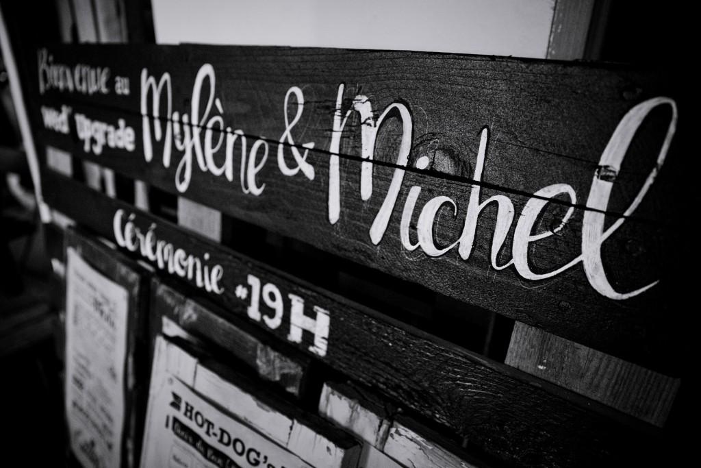 Panneau mariage // Photo : Pierre Grasset