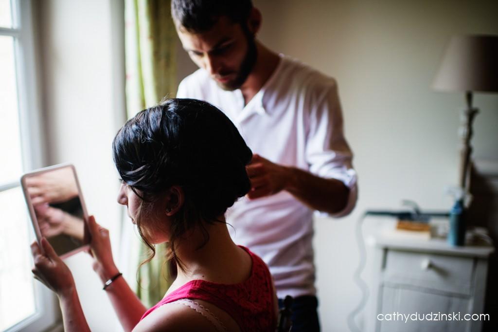 Remerciements à mes prestataires : Sylvain pour la coiffure et le maquillage // Photo : Cathy Dudzinski
