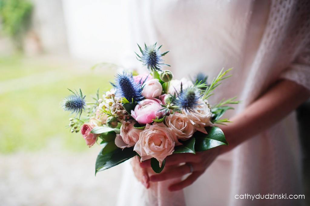 Remerciements à mes prestataires : Jean-Louis pour les fleurs // Photo : Cathy Dudzinski