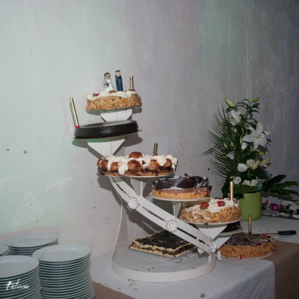 Notre pièce montée de desserts // Photo : Fatoon