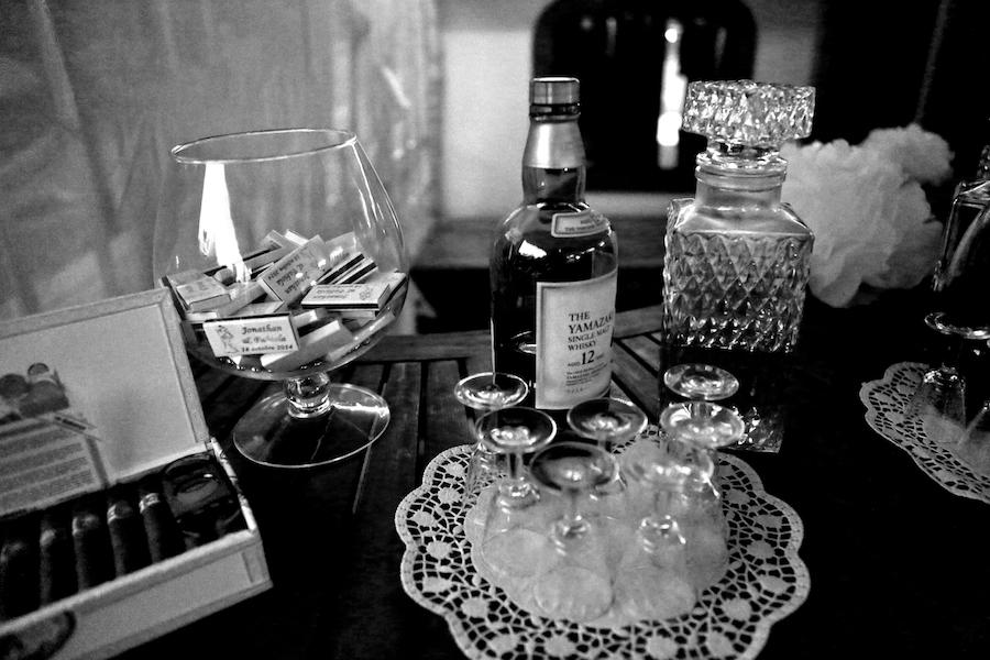 Le bar à alcools forts et à cigares // Photo : Cynthia Cappe