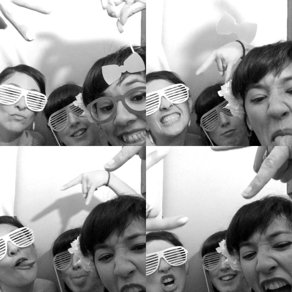 Les animations de la soirée : le photobooth