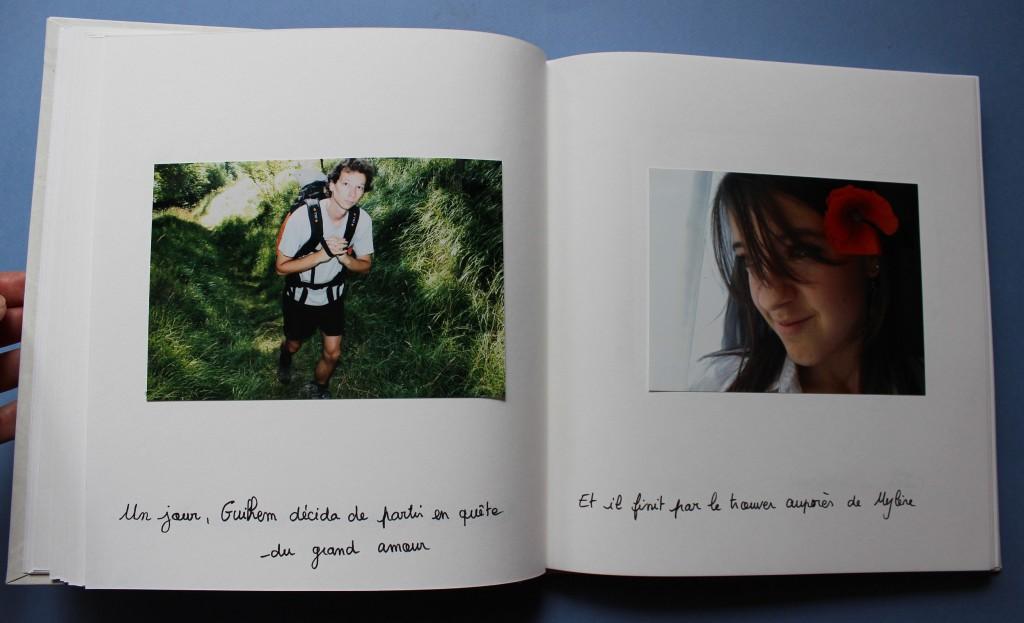 livre d'or roman photo