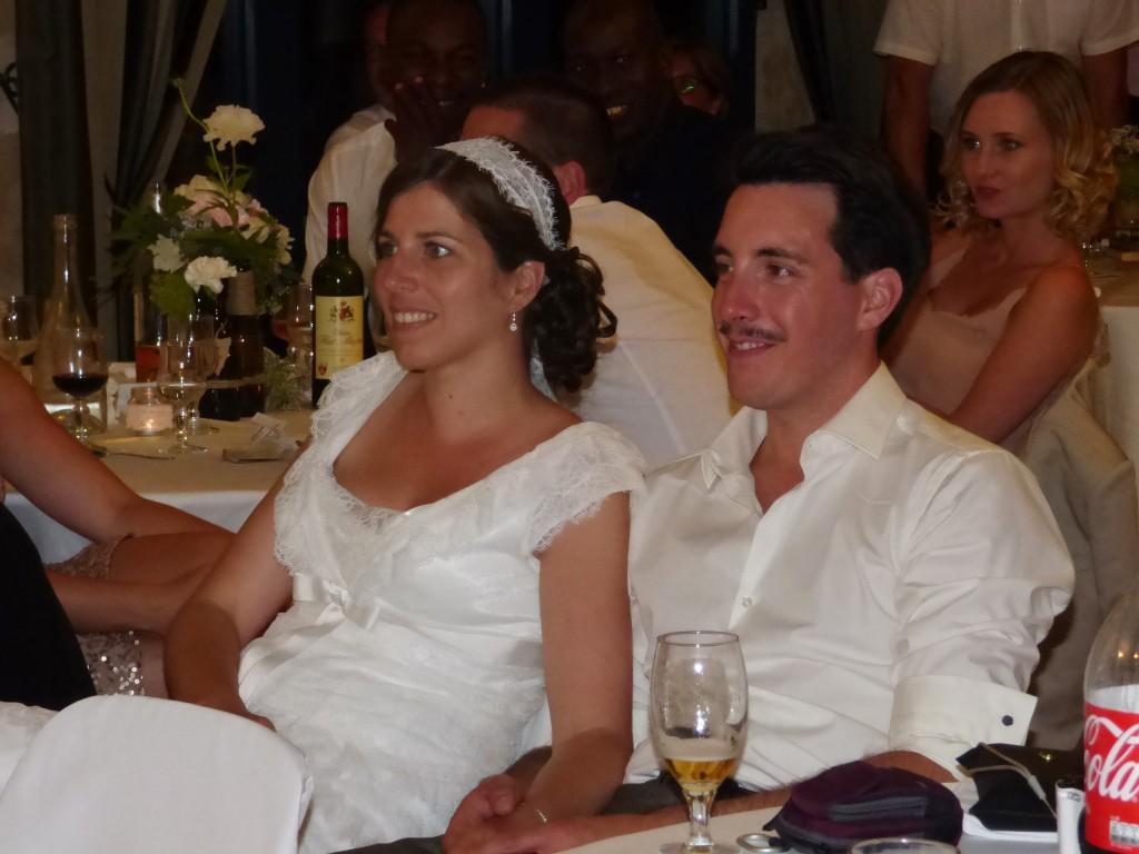 Le mariage de Mme Rétro avec un dress code headband et moustaches (21)