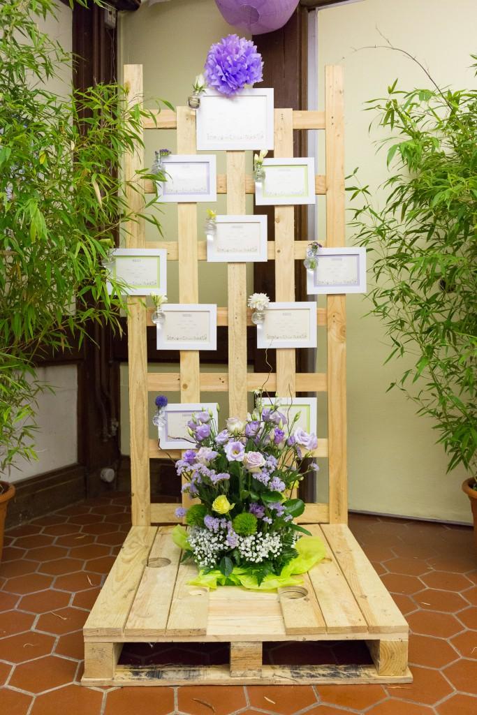 Le mariage fleuri de Mme Fleur en parme, anis et ivoire - Photo Laurent Guitou (17)