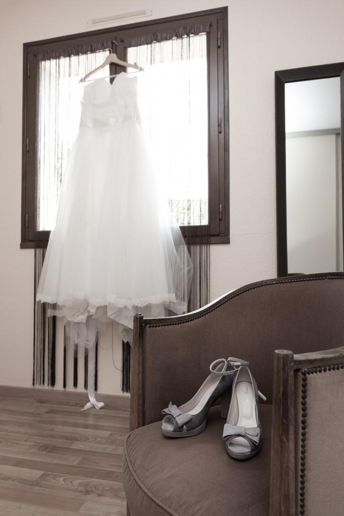 Le mariage fleuri de Mme Fleur en parme, anis et ivoire - Photo Laurent Guitou (4)