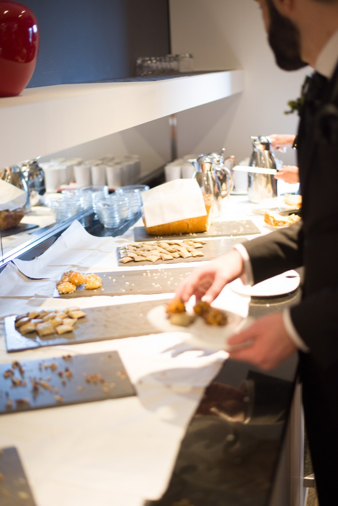 Animations et buffet lors du goûter d'honneur // Photo : Basile Crespin