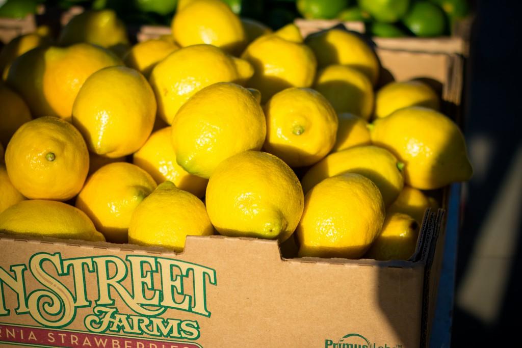 Faire une déco avec des citrons popur mon mariage !