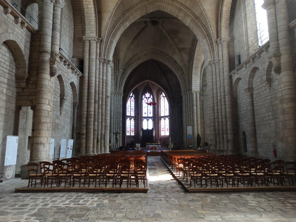 Visite de l'église de Saint-Yrieix