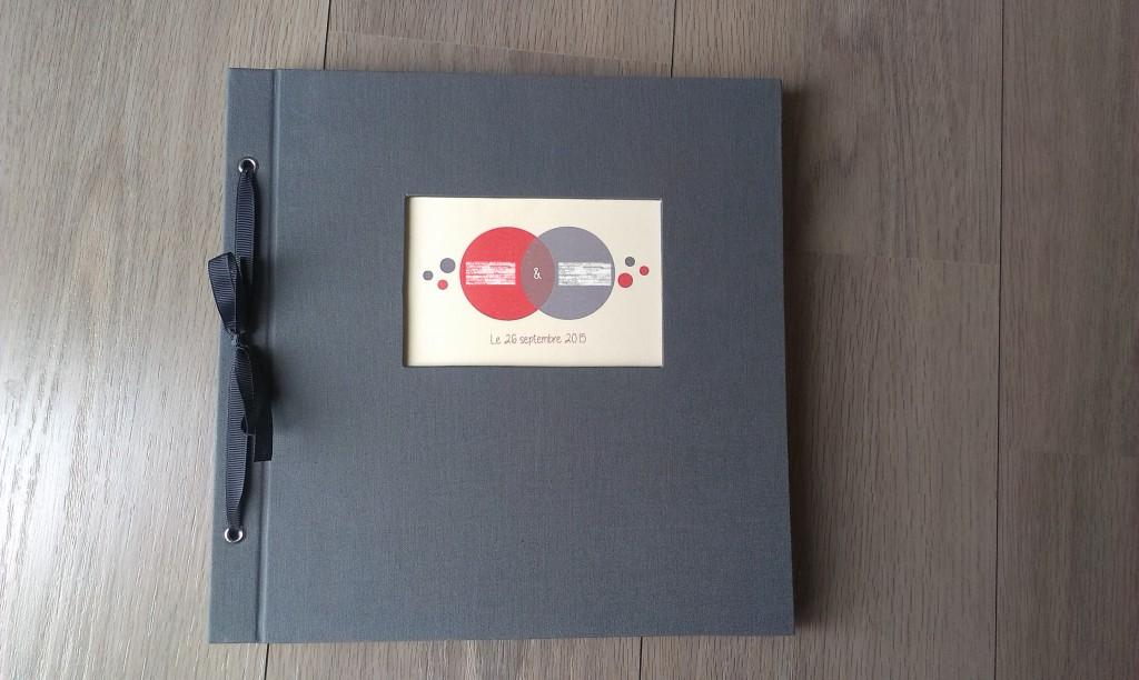 La déco de mon mariage : livre d'or DIY