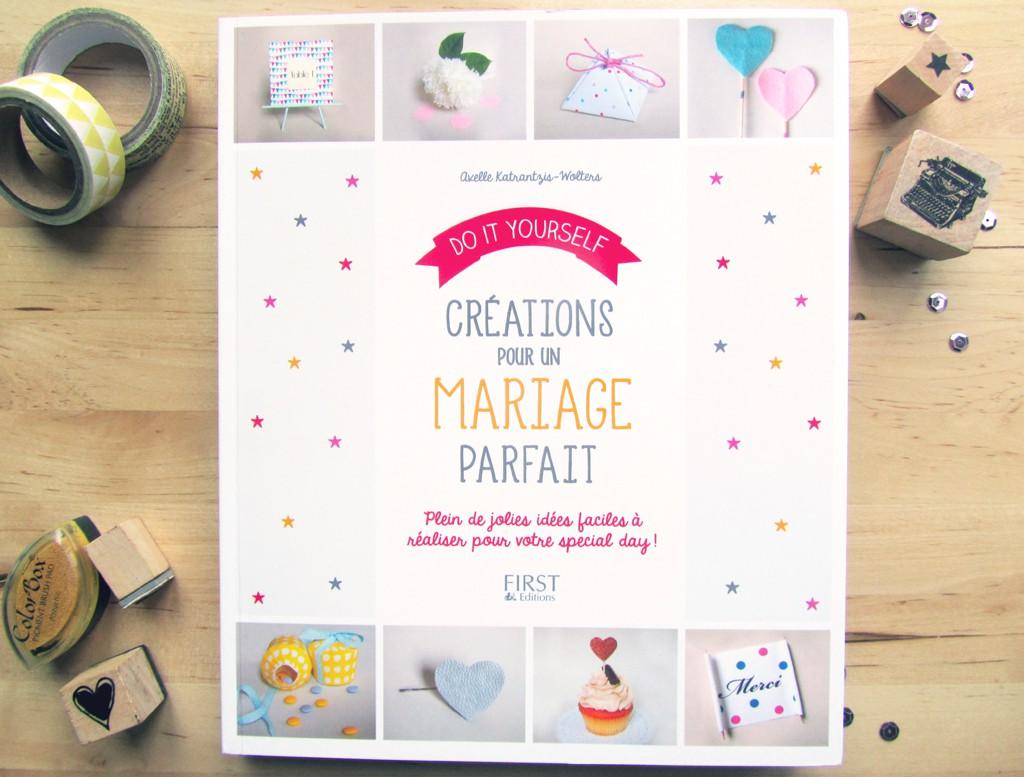 """livre """"Créations pour un mariage parfait"""""""