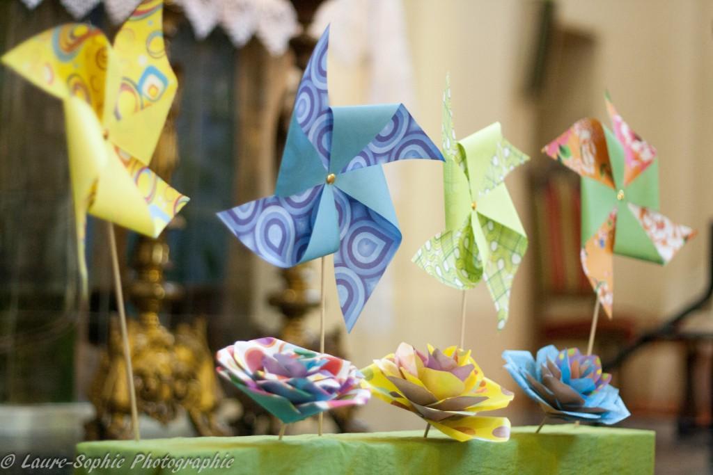 Le mariage fait maison de Delphine, sans thème et plein de couleurs et d'originalité - Photo Laure Sophie Photographie (12)