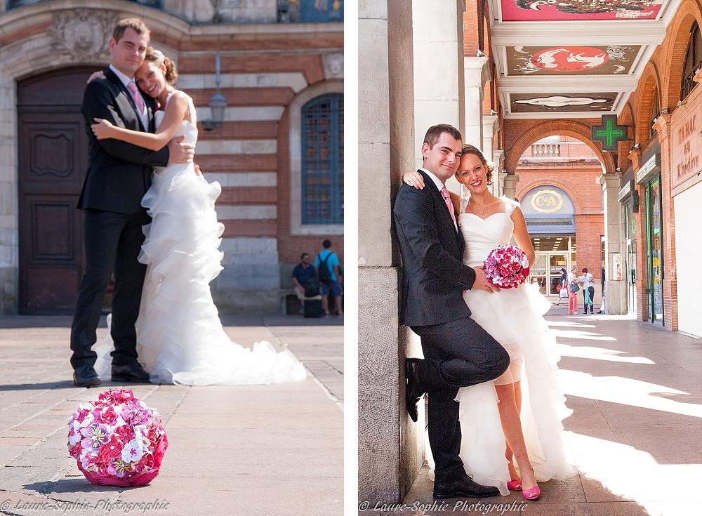 Le mariage fait maison de Delphine, sans thème et plein de couleurs et d'originalité - Photo Laure Sophie Photographie (7)