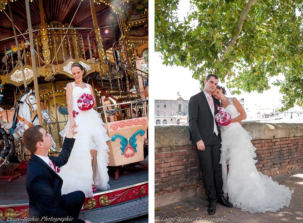 Le mariage fait maison de Delphine, sans thème et plein de couleurs et d'originalité - Photo Laure Sophie Photographie (9)