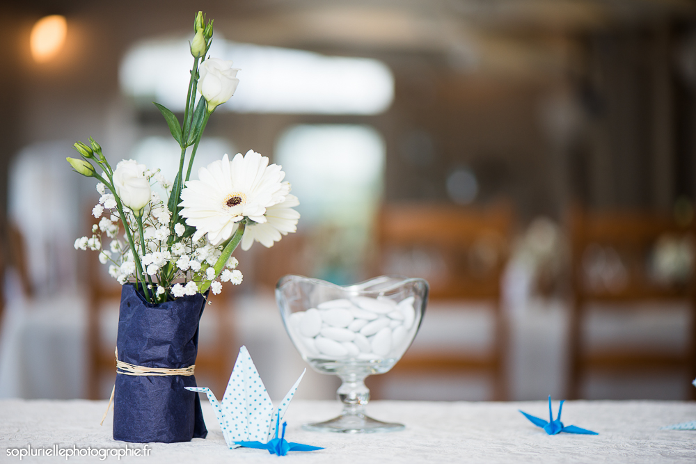 Des dragées pour nos cadeaux d'invités // Photo : Sonia Blanc
