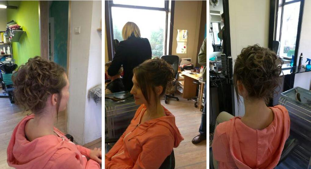 Les préparatifs du jour J : mise en beauté au salon de coiffure