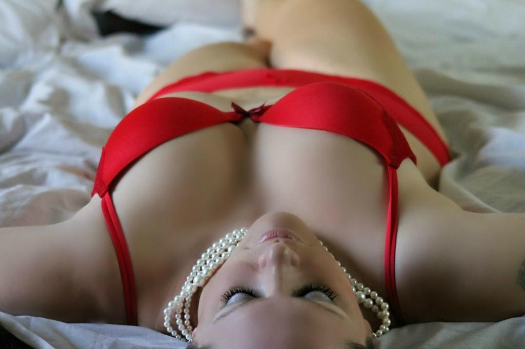 Une séance boudoir