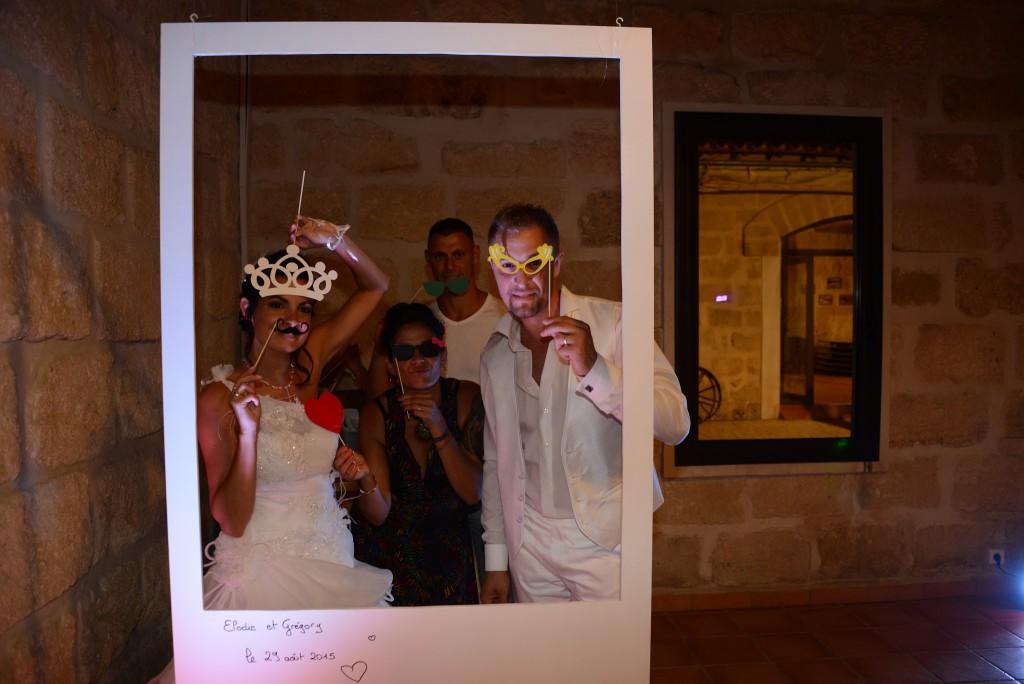 photobooth cadre polaroid