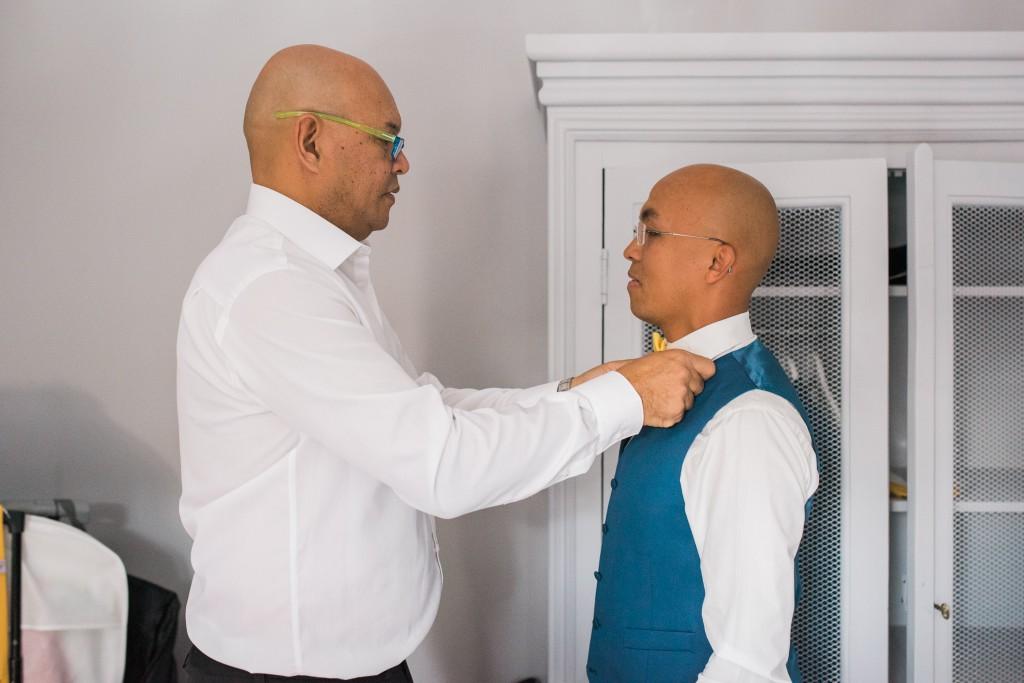 Préparatifs du marié // Photo : Trentième Étage