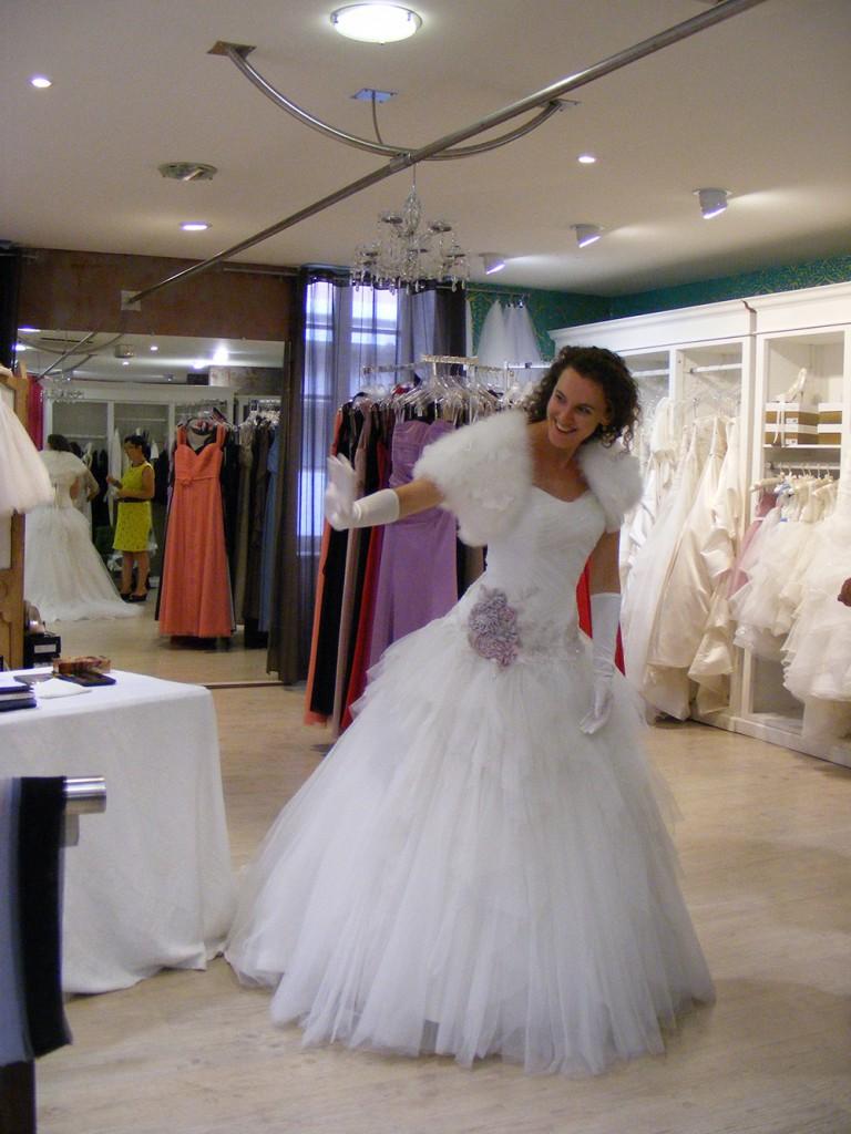 Coulisses de mes essayages avec des robes de princesse !
