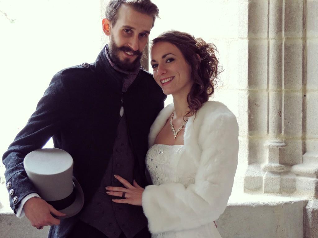 Le mariage d'hiver de Victoria, à petit budget, do it yourself et végétarien (2)