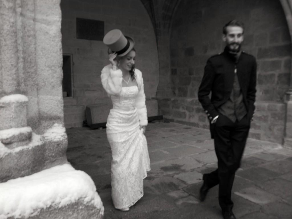 Le mariage d'hiver de Victoria, à petit budget, do it yourself et végétarien (8)