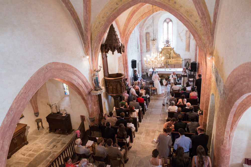 Le mariage religieux, champêtre et festif de Léopoldine (12)