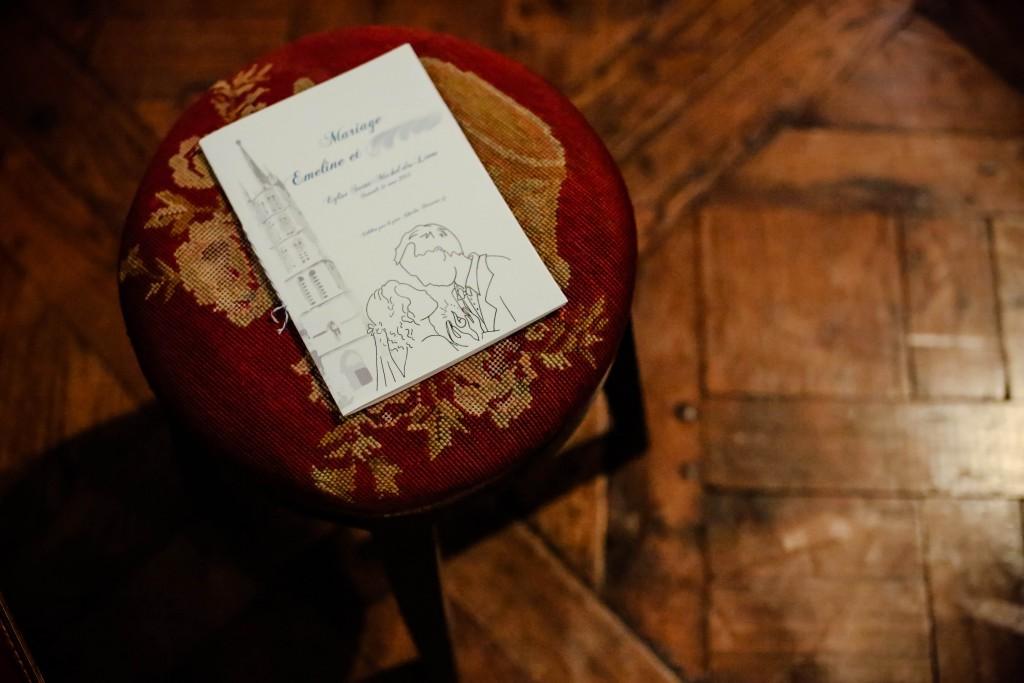Derniers préparatifs et impession des livrets de messe // Photo : D'un clic