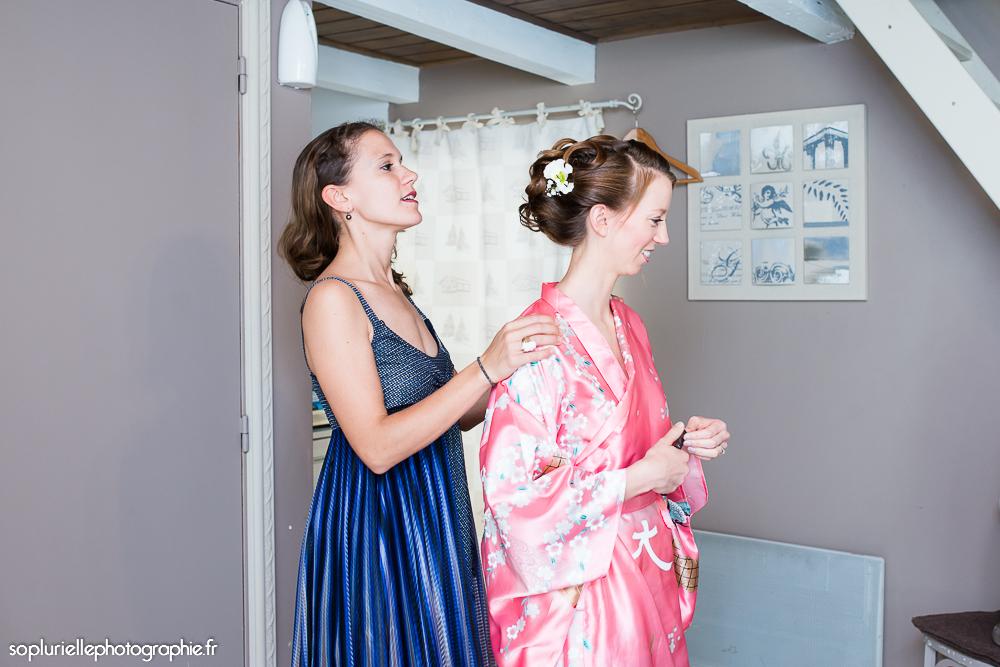 Les préparatifs de Mme Suzette - Photo Sonia Blanc