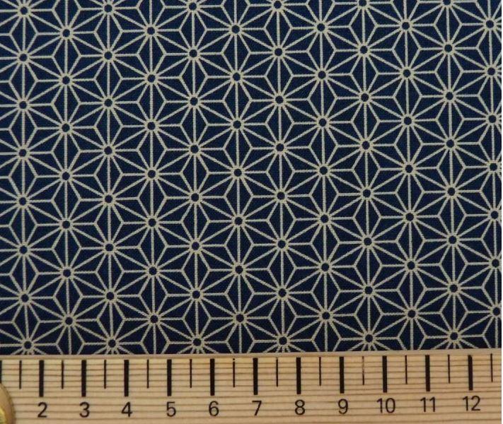Tissu petit asanoha échelle Couleurs Japon