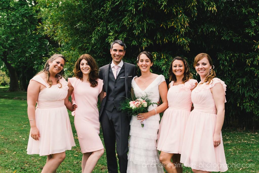 Photos de groupe pendant le cocktail // Photo : Amandine Gimenez