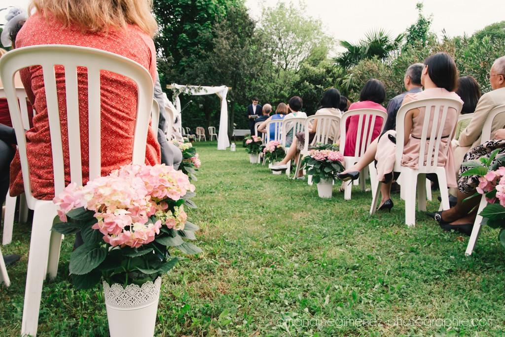 L'organisation de notre cérémonie laïque // Photo : Amandine Gimenez