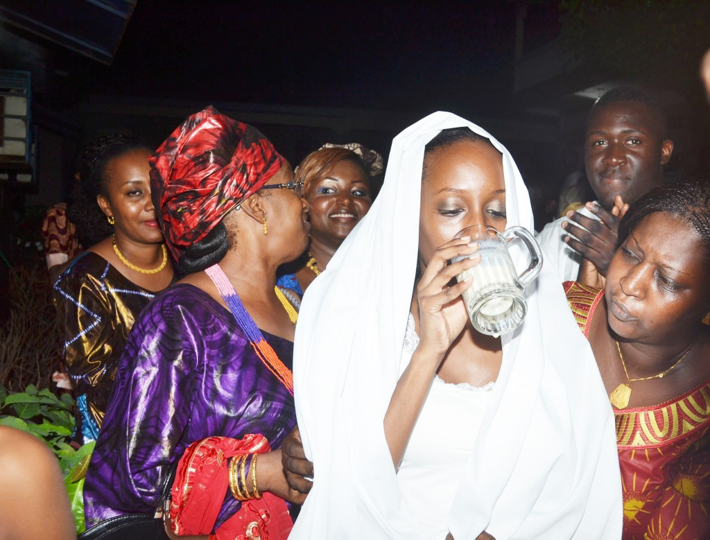 Mariage en Guinée - Première soirée