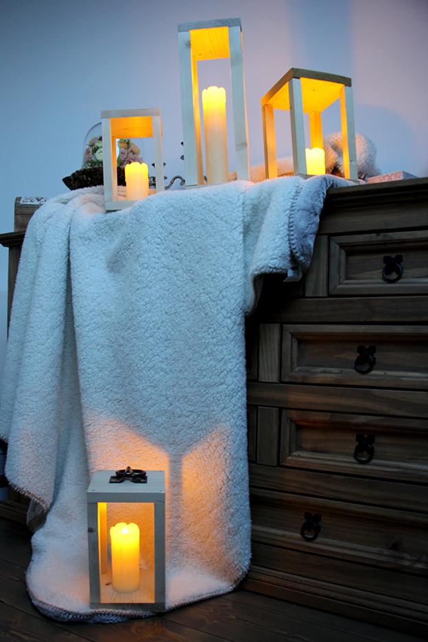 DIY : des lanternes en bois pour la déco du mariage