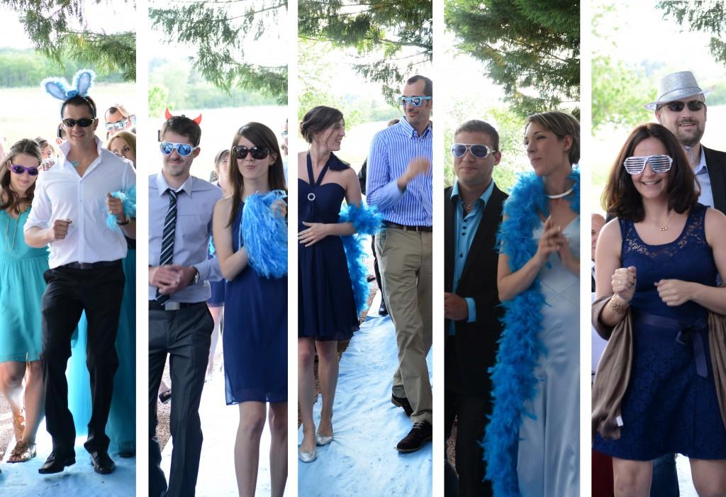 Le mariage en bleu et blanc et à son image de Minette - Photo Azaliya (15)