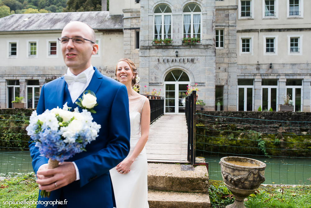 Découverte des mariés - sopluriellephotographie
