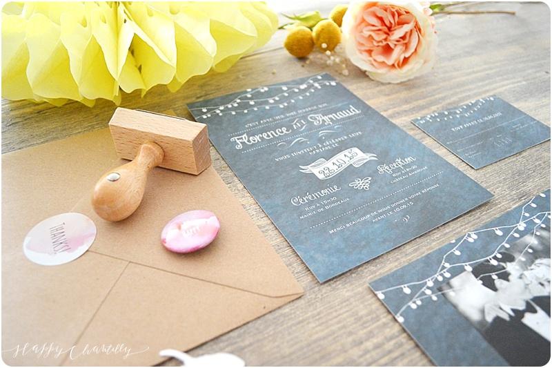 Gagne la papeterie de ton mariage avec Happy Chantilly !