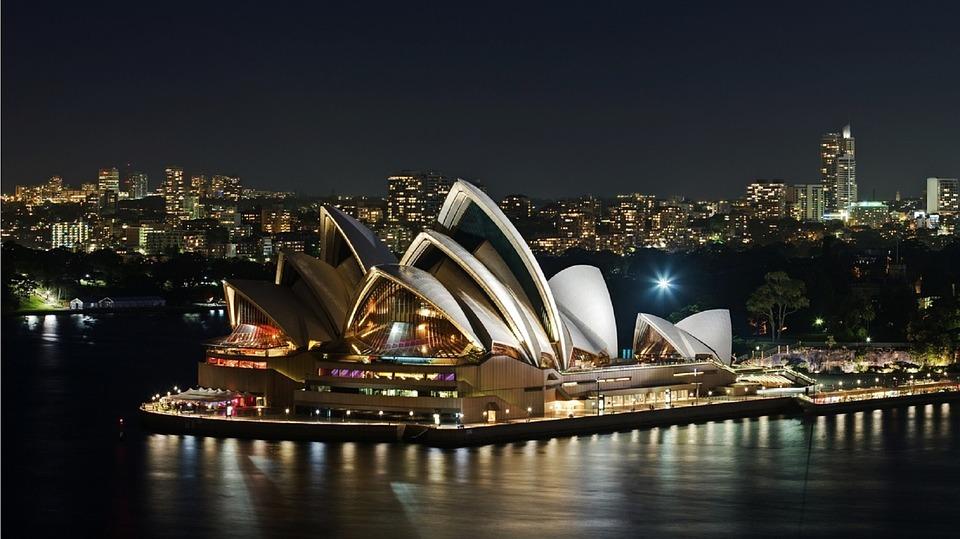 Une demande en mariage à Sydney !