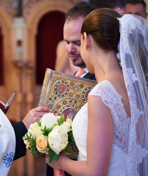 Cérémonie religieuse orthodoxe - Photo Stéphane Evras
