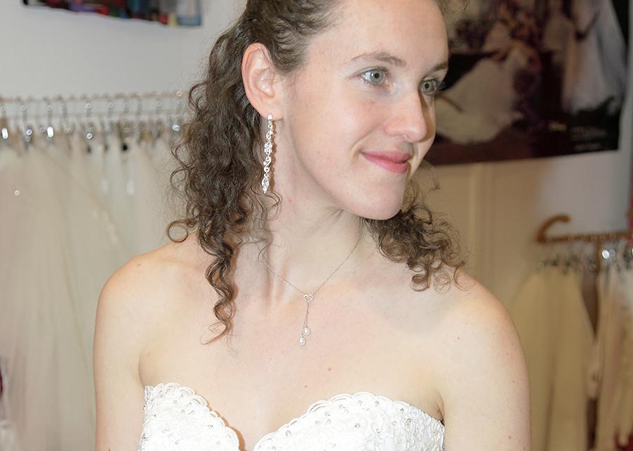 Essai pour mes bijoux de mariée