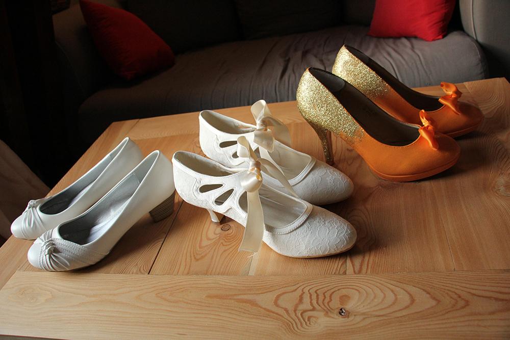 Mes 3 paires de chaussures pour le mariage