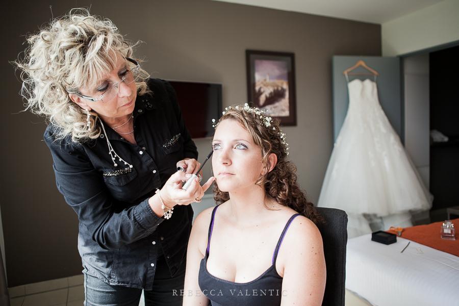 Le mariage de princesse en bleu de Madame D - Les préparatifs (11)