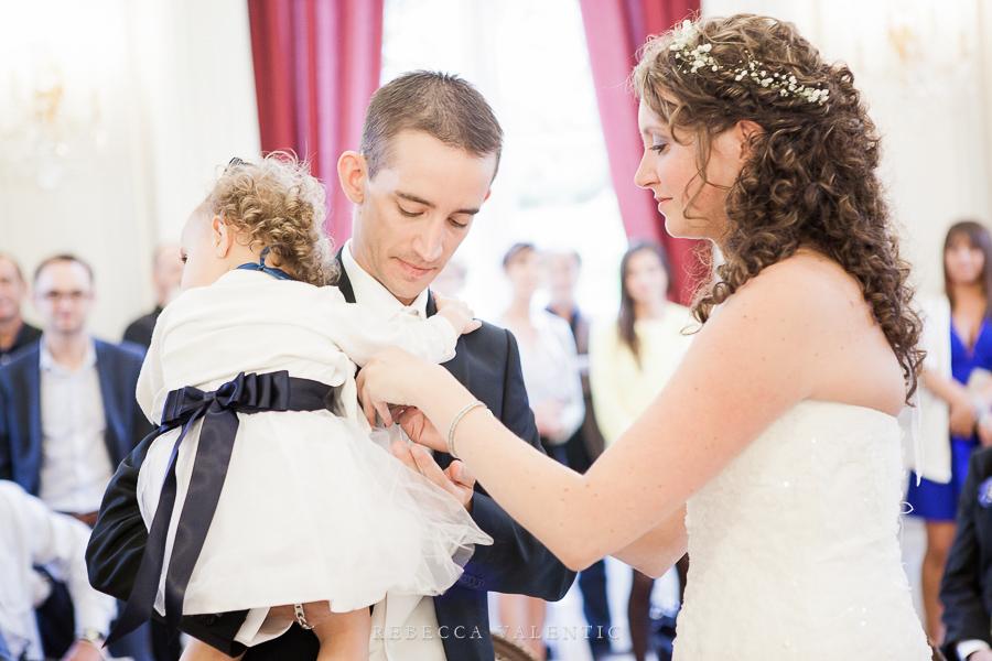 Le mariage de princesse en bleu de Madame D - cérémonie et vin d'honneur (13)