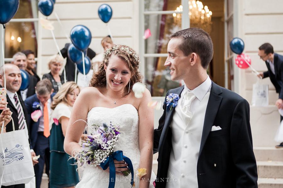 Le mariage de princesse en bleu de Madame D - cérémonie et vin d'honneur (14)
