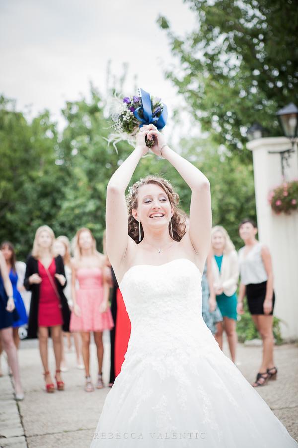 Le mariage de princesse en bleu de Madame D - cérémonie et vin d'honneur (16)